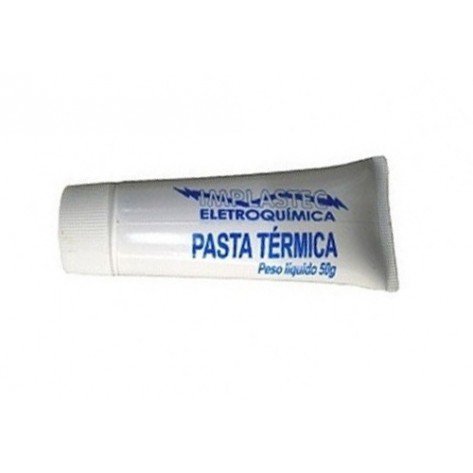 Pasta térmica Implastec Bisnaga - 50g
