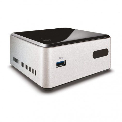 Mini PC Intel NUC CN28304500 - Intel® Celeron® N2830 Dual Core 2.16GHz - 4GB RAM 500GB HD - Linux