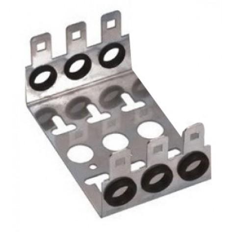 Bastidor de  Metal para 3 Blocos - M10