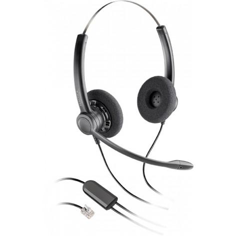 Headset Practica Duplo Auricular com Redução de Ruído SP12 - Plantronics