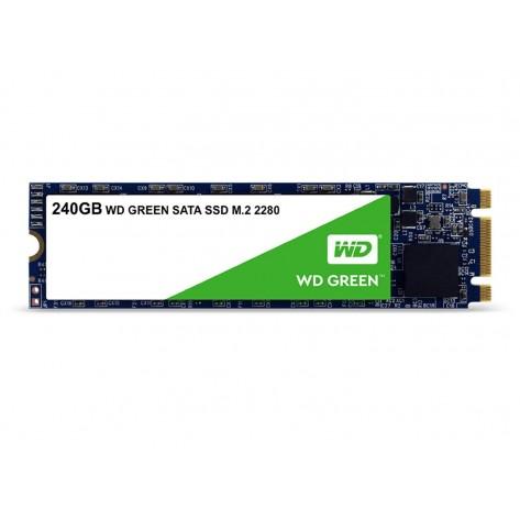 SSD M.2 240GB Western Digital Green WDS240G2G0B - Leituras 545MB/s - SATA 6Gb/s - M.2 2280