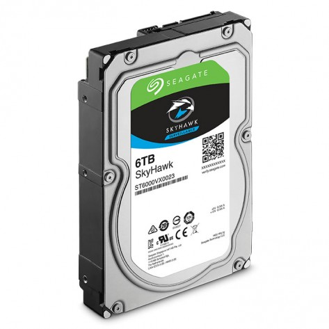 HD 6TB (6000GB) Seagate SkyHawk SATA 3 - 256 MB - 7200Rpm