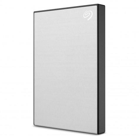 "HD externo 2.5"" 2TB Seagate Backup Plus Slim STHN2000401 - USB 3.0 - Prata"