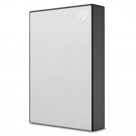 HD externo 2.5'' 4TB Seagate Backup Plus Portable STHP4000401 - USB 3.0 - Prata