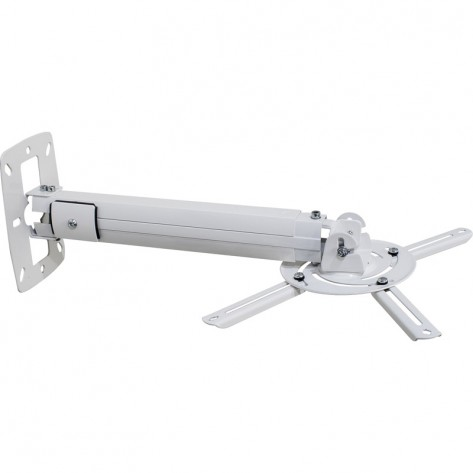 Suporte Multivisão MT-305 - 2 em 1 para Projetor - Teto ou Parede - Branco