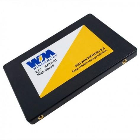 SSD 2.5'' 128GB Win Memory SWR128G - Leituras 560Mb/s - SATA 6Gb/s