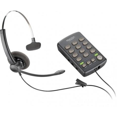 Telefone com Headset Plantronics Practica T110 - 79981-11