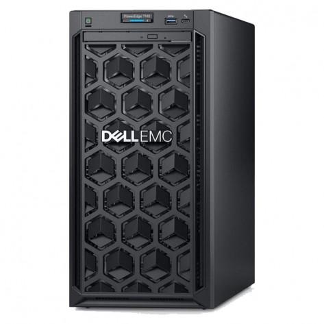 Servidor Dell EMC PowerEdge T140 210-AQSS-BLJN#970 - Xeon E-2224 - 16GB DDR4 - 2x1TB Sata - Rede 2x1Gb - Torre