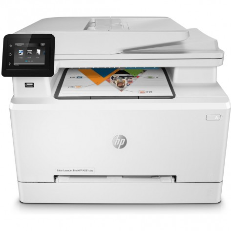 Multifuncionl laser HP M281fdw (T6B82A) - Imprimir, copiar, digitalizar e fax - Wireless