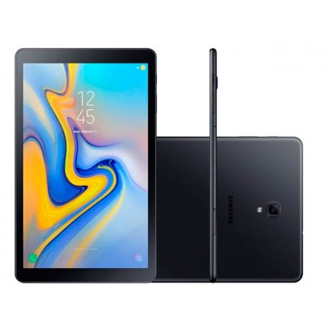 "Tablet Samsung Galaxy Tab A SM-T595 - Tela 10.5"" 32GB, Octa Core 1.8GHz, Câmera 8.0 MP - Wi-Fi - Preto"