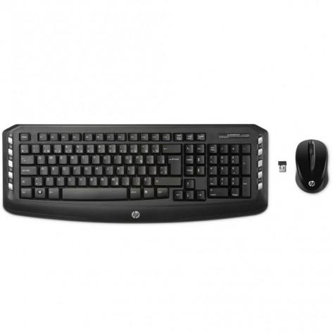 Teclado e Mouse sem fio HP LV290AA - Wireless - ABNT2