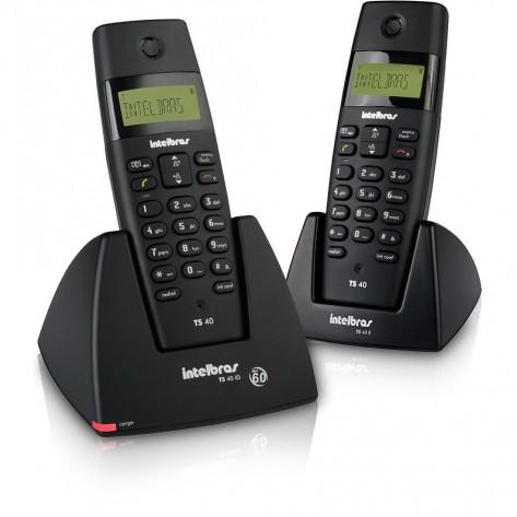 Telefone Intelbras TS40C - 1 Ramal - Identificador de Chamadas