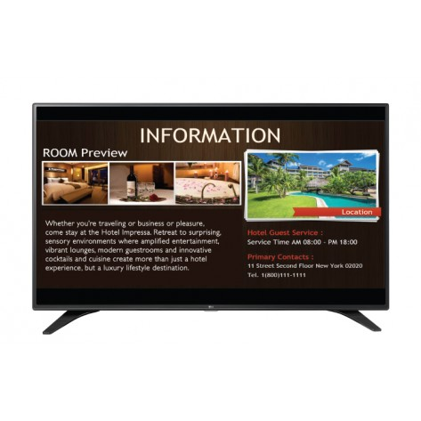 "Televisor LG 55"" - LED Full HD - 55LW540S  - Modo Hotel - ( 1920x1080 )"