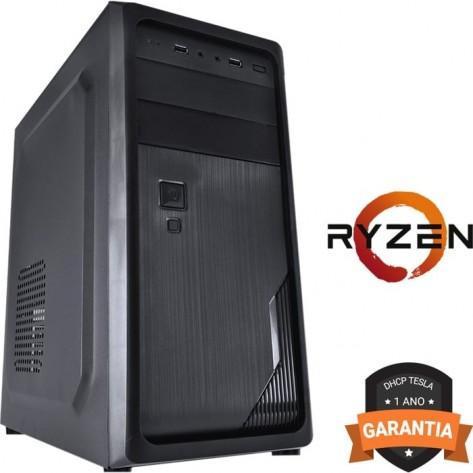 Computador DHCP Tesla Desktop - AMD Ryzen 5 2400G - 4GB DDR4 - 1TB HD - 200W - Gravador DVD