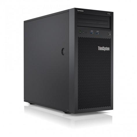 Servidor Lenovo ThinkSystem ST50 7Y48A00LBR - Xeon E-2104G - 8GB DDR4 ECC - 1TB Sata - Rede 1Gb - Torre