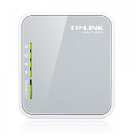 Roteador Portátil TP-Link TL-MR3020 Wireless 3G - 4G - 150Mbps