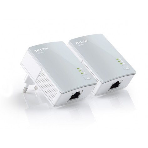 Adaptador Ethernet PowerLine - TP-Link TL-PA4010KIT - 500Mbps