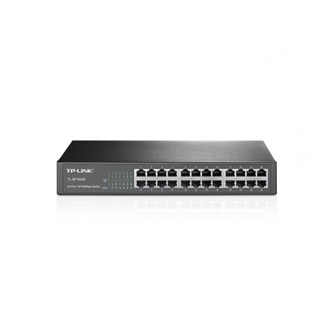 Switch TP-Link TL-SF1024D - 24 portas 10/100 Mbps