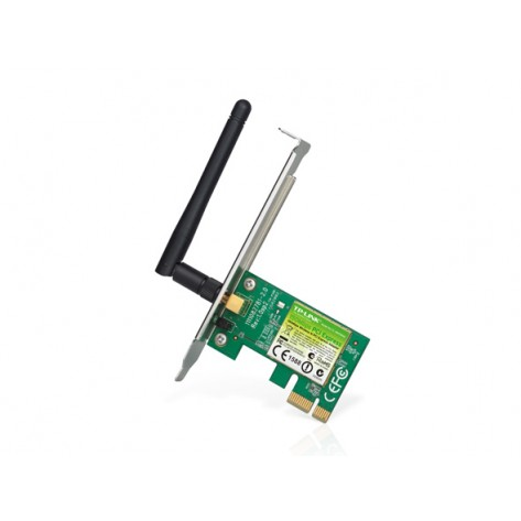 Adaptador Wireless - TP-LINK TL-WN781ND - PCI Express - 150Mbps - Com suporte low profile