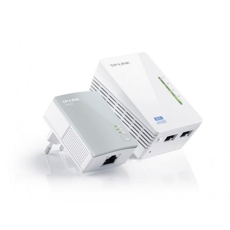 Kit Extensor de Alcance WiFi Powerline - Edição 300Mbps WiFi e AV 500Mbps