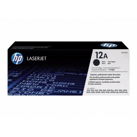 Toner Preto HP LaserJet 12A - (Q2612A)
