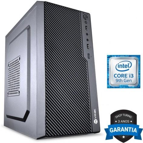 Computador DHCP Turing Desktop G9 - Intel i3 - 8GB DDR4 - Sem HD - 220W - Gravador DVD - Sem video