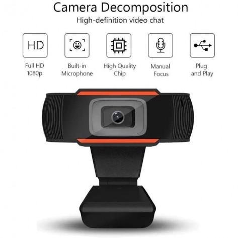 Webcam Amet Vision One U9 - 1080p 30fps - com Microfone