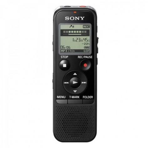 Gravador Digital de Voz Sony ICD-PX440 - 4GB - MicroSD e M2 - USB
