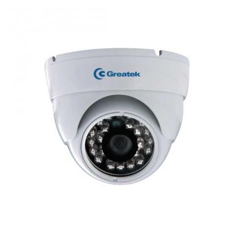 Câmera DOME Greatek SEGC-7620D para Segurança Eletrônica com Infra-Vermelho 760TVL 25M 3.6MM
