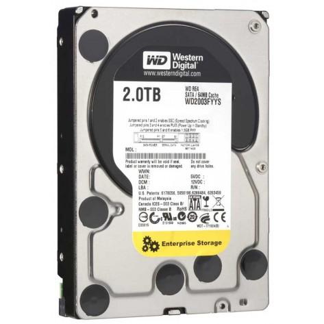 """HD 3.5"""" 2TB Western Digital WD RE4-GP - 7200RPM - 64MB Cache - SATA 3Gb/s"""