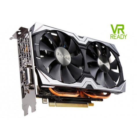 Placa de Vídeo Zotac AMP GeForce 1060 - 6GB GDDR5 192 bits - PCI Express 3.0