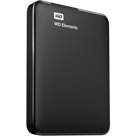 HD externo 2.5'' 1TB Western Digital Elements Portable WDBUZG0010BBK - USB 3.0 - Preto