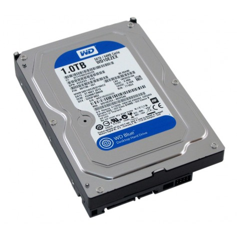 HD 1000GB (1TB) Western Digital SATA III - 64MB Buffer - 7200RPM (WD10EZEX)