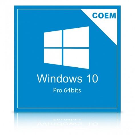 Microsoft Windows 10 Professional 64 Bits FQC-08932 - COEM