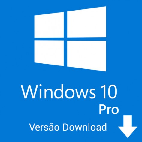 Windows 10 Pro 32-64 bits - Versão Download