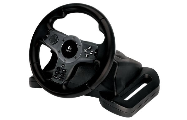 1f3a60f8678 Volante Logitech Driving Force Wireless - PS3 e PS2 - DHCP Informática