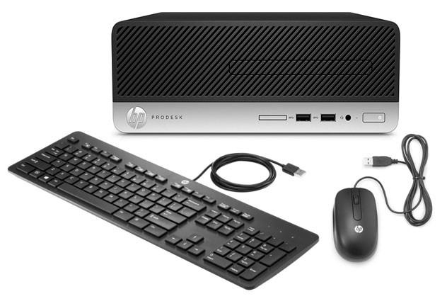 Computador HP ProDesk 400 G4 SFF - i3-7100 - 4GB - 500HD - Windows 10 PRO