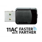 Adaptador Nano Wireless USB - D-Link DWA-171 AC600 - Dual Band