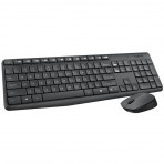 Teclado e Mouse Sem Fio Logitech MK235 - Wireless