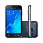 "Smartphone Samsung Galaxy J1 Mini SM-J105B/DL - 3G Android 5.1 Quad Core 1.2GHz 8GB Câmera 5.0MP Tela 4.0"" - Preto"