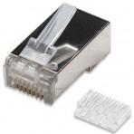 Conector Rj-45 Blindado Cat-6 Macho