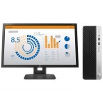 "Computador HP ProDesk 400 G5 SFF 5LA24LA#AC4 - i5-8500 - 8GB DDR4 - 500GB HD - Windows 10 PRO + Monitor 23.6"" LED HP V24b 2XM34AA"