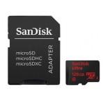 Cartão de memória SanDisk Ultra microSDXC com Adaptador SD - 128GB