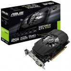 Placa de Vídeo ASUS GeForce GTX 1050 - 2GB 128-bits GDDR5 - PCI Express 3.0