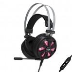 Headset Gamer C3TECH PH-G710 Vulture - USB 7.1 Surround - LED