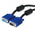 Cabo extensor para monitor VGA HD15M X HD15M - 1.8 Metros