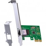 Placa de Rede Vinik PRV1000E - PCI-Express 10/100/1000Mbps + Espelho Low Profile