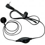 Fone Motorola Com Microfone PTT para Rádios Talkabout - Preto