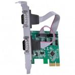 Placa Serial com 2 Saídas Vinik P2IE-LP - PCI-Express + Espelho Low Profile