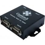 Conversor Comm5 2SG-TCP - rede para 2 saídas seriais RS232